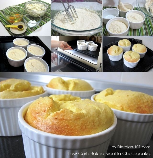 Low Carb Baked Ricotta Cheesecake South Beach Phase 1 Recipe T Plan 101