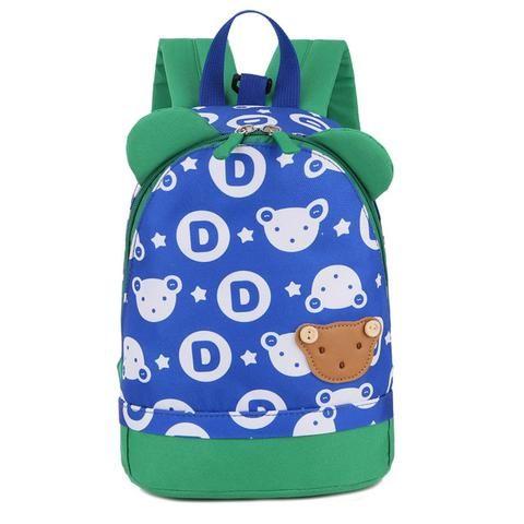 b2e32c0146 2018 New School Bags Anti-lost Kids Baby Bag Cute Bear Pattern Backpacks  For Boys Girls Small Bag Children Kindergarten Backpack