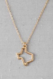 Texas State Pendant Necklace