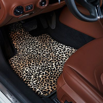Ggbailey Leopard Animal Couture Luxury Car Mat Car Pinterest