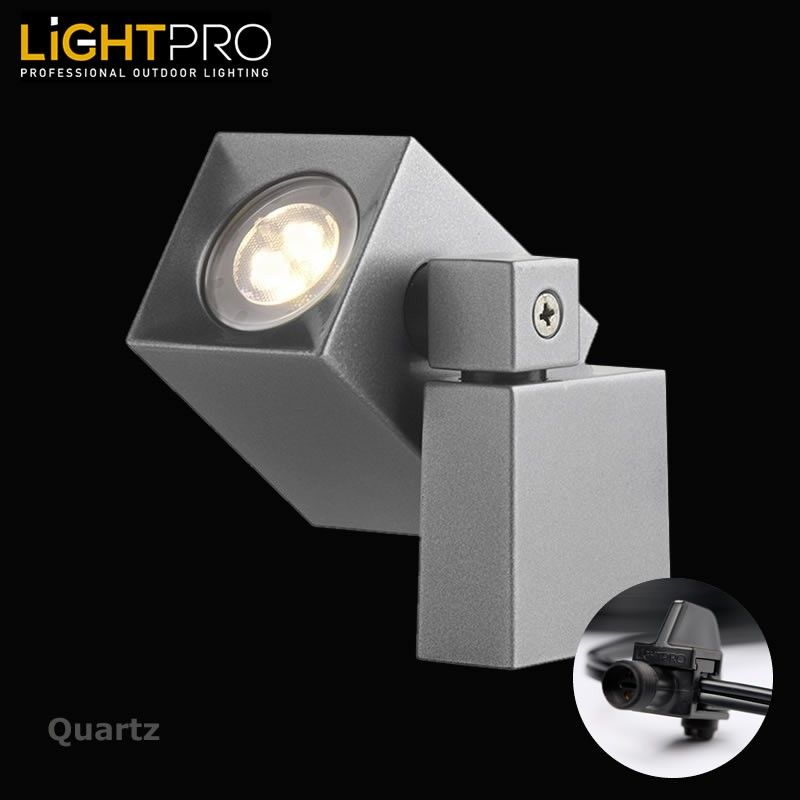 Lightpro 12v Quartz 2w Led Ip44 Outdoor Garden Wall Light Garden Wall Lights Wall Lights Garden Wall