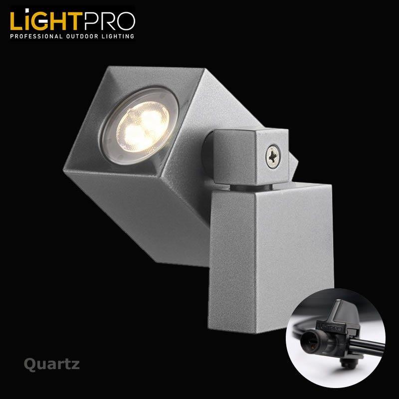 Lightpro 12v Quartz 2w Led Ip44 Outdoor Garden Wall Light Garden Wall Lights Wall Lights Garden Wall