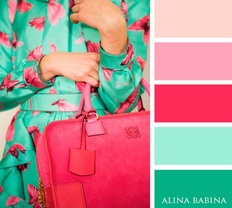 Сочетание цветов одежды в картинках