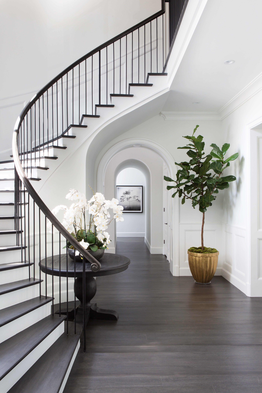 √ 20+ Dark Wood Floors Ideas Designing Your Home (DIY | Foyer ...