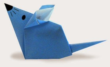 Origami Mouse 2
