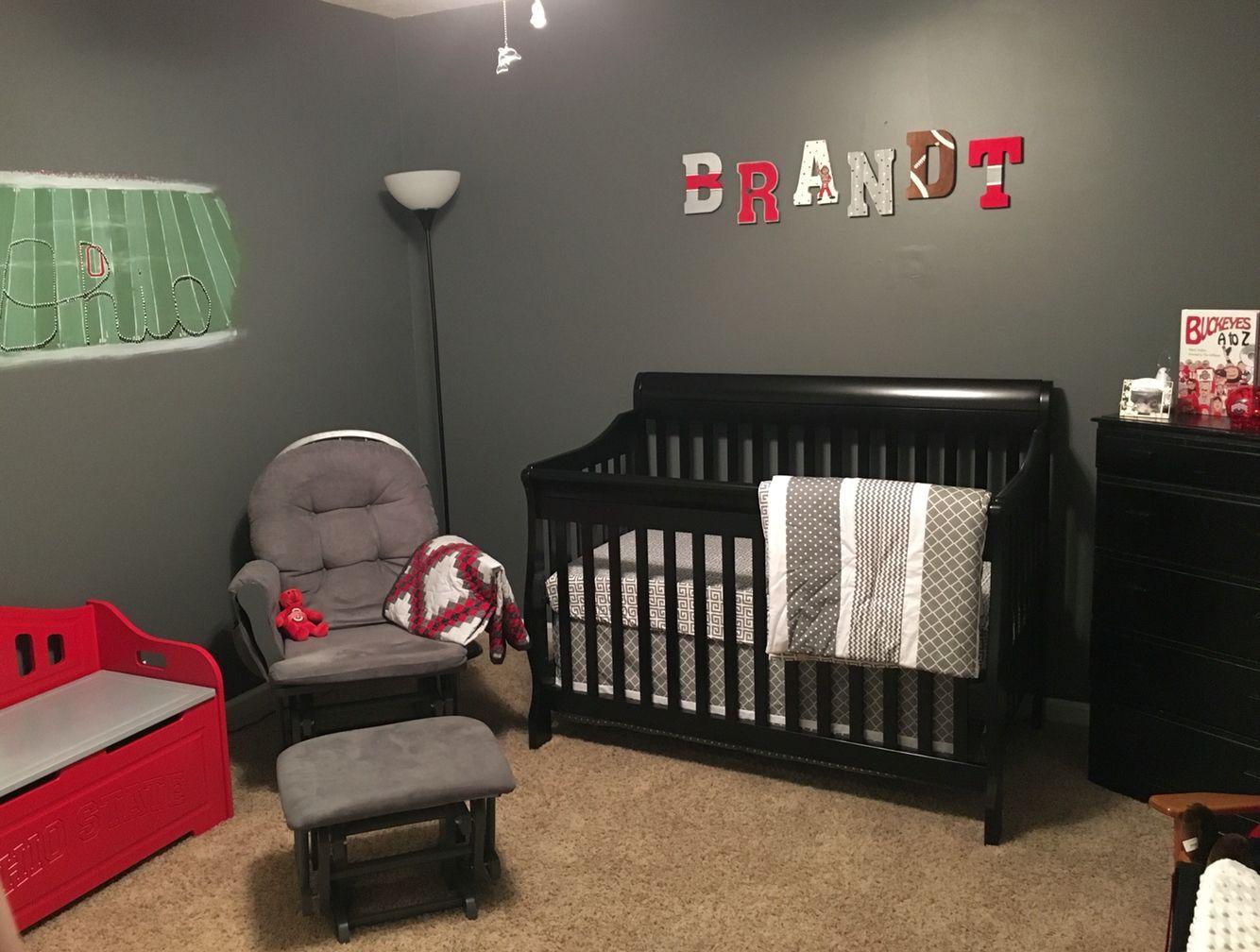 Ohio State Nursery Baby Nook