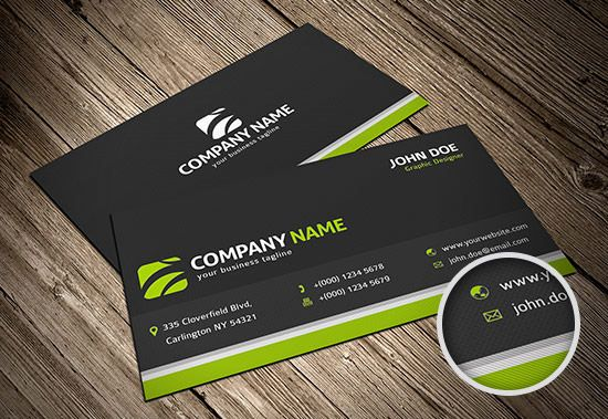 Freebie Release: 10 Business Card Templates (PSD) | Card templates ...