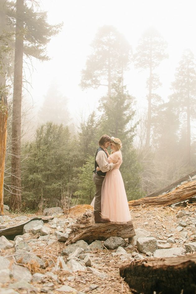 The stuff of fairytales! Photography by Kristen Booth http://bridalmusings.com/2013/08/enchanted-fairytale-wedding-shoot-kristen-booth/