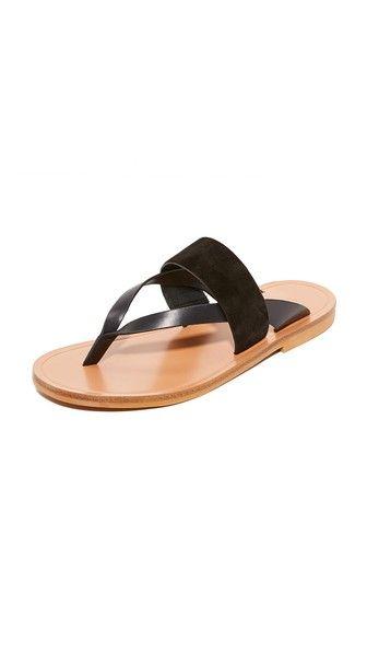 2c55274e7cb6c5 Vince Tess Thong Sandals