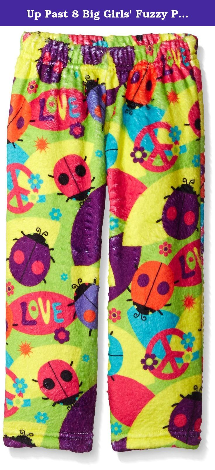 b61dc4039b Up Past 8 Big Girls  Fuzzy Pajama Pant