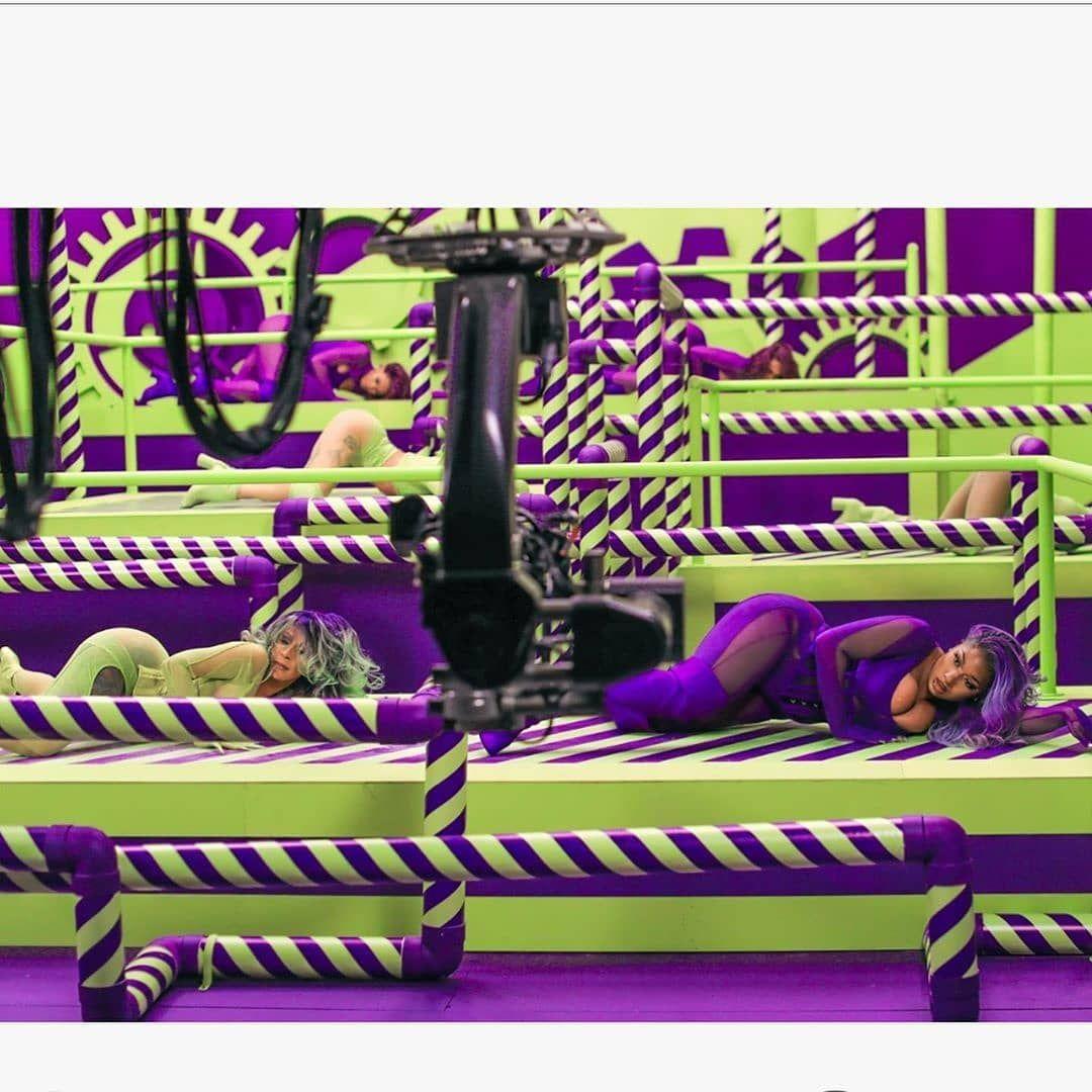 Wap Cardi B Megan Wear A Mask Please Meme Washable Covering Etsy Green And Purple Cardi Cardi B