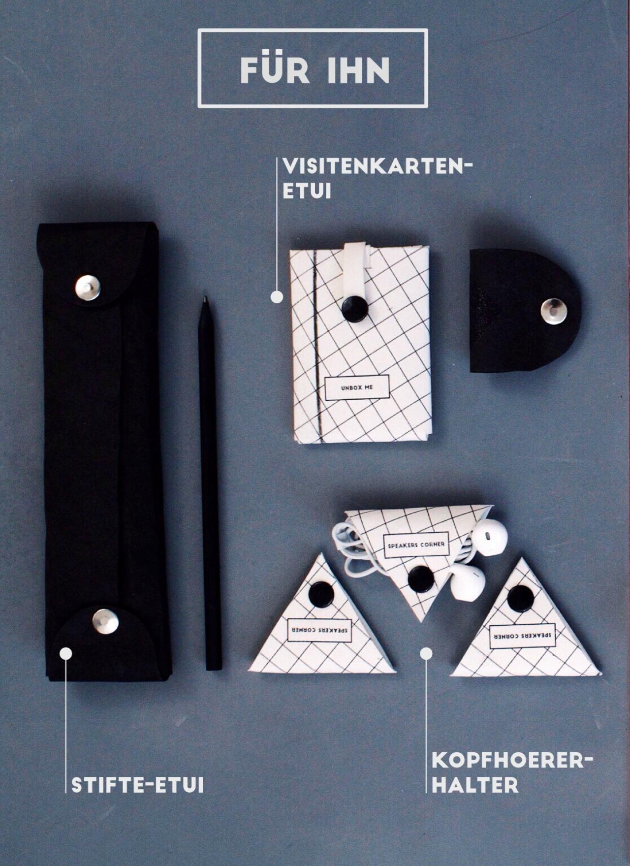DIY-Geschenke: Organisationstalente für Sie und Ihn | Office ...