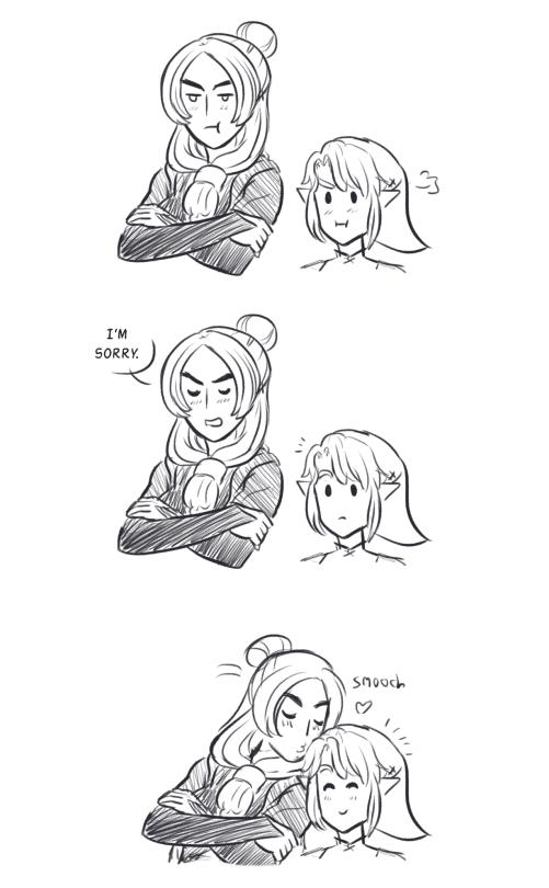 Midna Link Legend of Zelda
