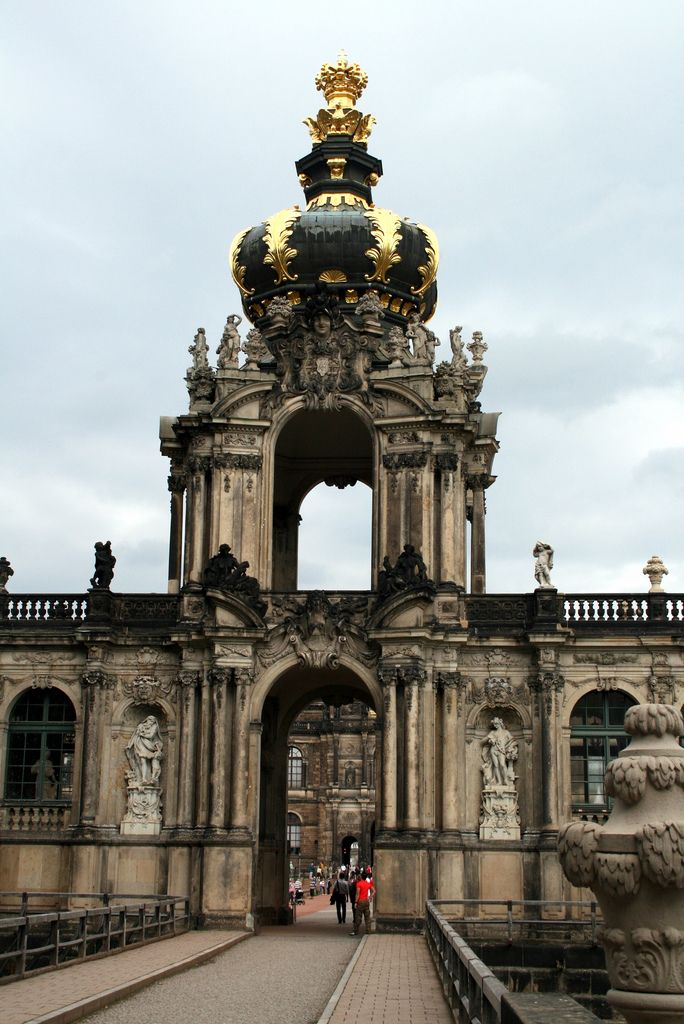Zwinger Portail Unique Architecture Baroque Architecture Germany