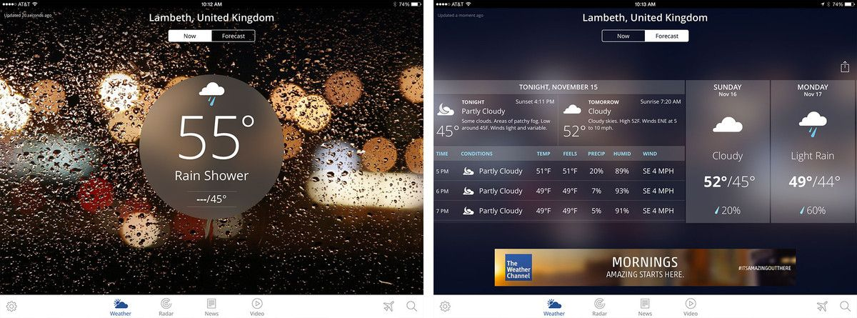 Best weather apps for iPad (With images) App, Weather