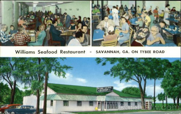 Williams Seafood Restaurant On Tybee Road Favorite Places