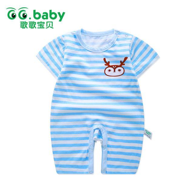 8c113b6c0 Baby Girl Summer Romper Newborn Overall Baby Romper Suits Infant Boy ...