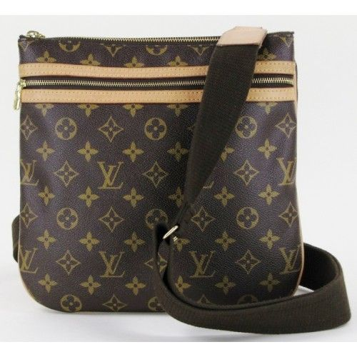 Louis Vuitton Monogram Bosphore Messenger Crossbody Bag - Maybe I ll get  this for my birthday. 4590dff9af2a7