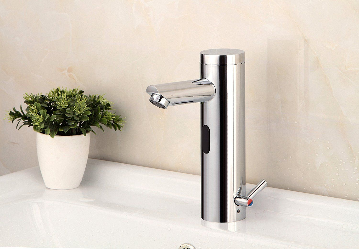 YAJO Modern Single Lever for Temperature Control Touch-Free ...