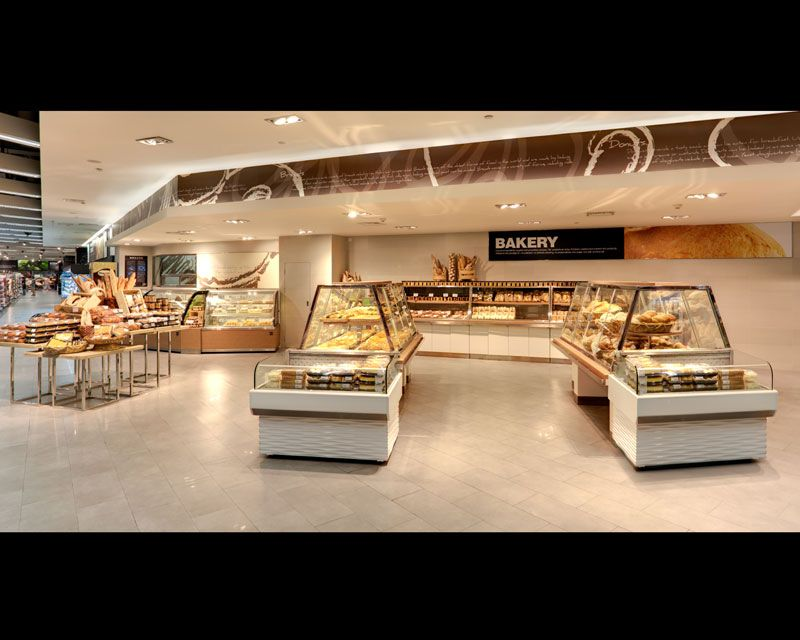 Ole' Supermarket G4: Store Fixtures That Reflect the World Environment MixC, Cheng Hua District, Chengdu, China
