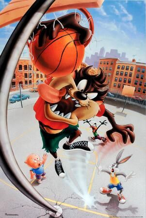 Taz Looney Tunes Taz Basketball 5000959 Warner Brothers