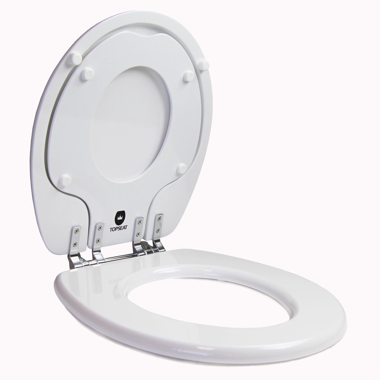 Topseat 6tstr9999cp Tinyhiney Potty Round Toilet Seat Potty Seat