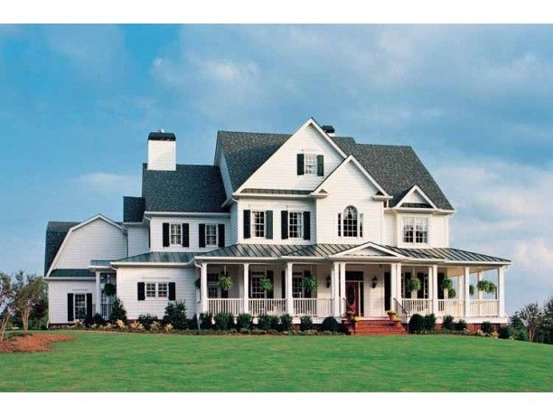 Country Style House Plan 5 Beds 5 5 Baths 5466 Sq Ft Plan 927 37 Country Style House Plans House Plans Farmhouse Country House Plans