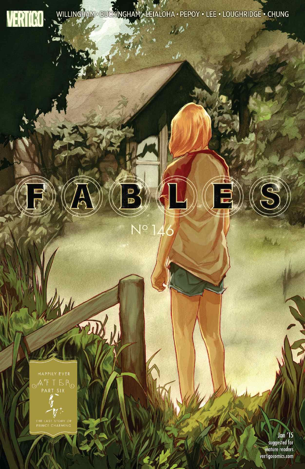 Fables #146 - Happily Ever After Part Six, The last story of Prince Charming (Jan, 2015)