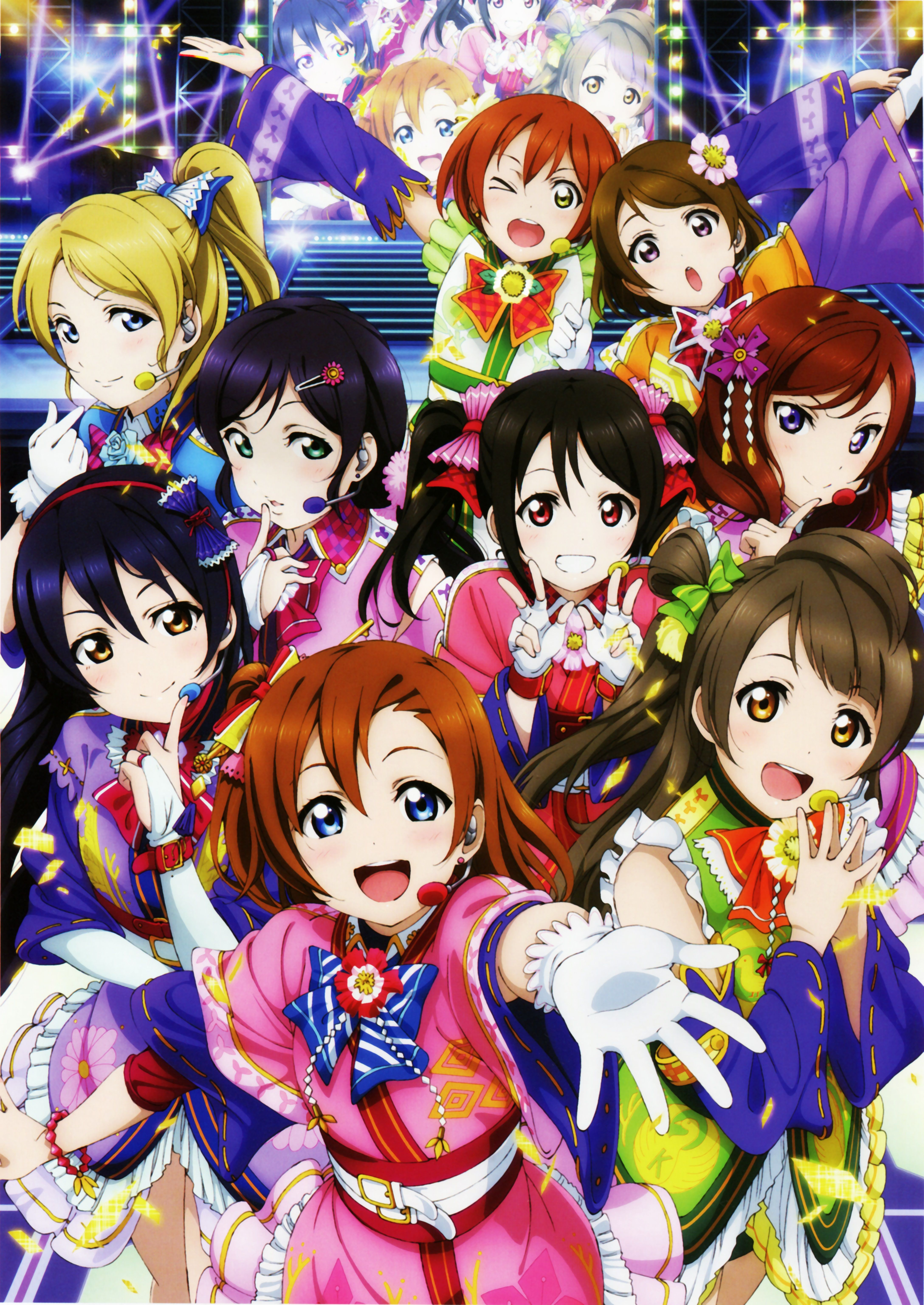 Pin On Lovelive Sif And Sunshine