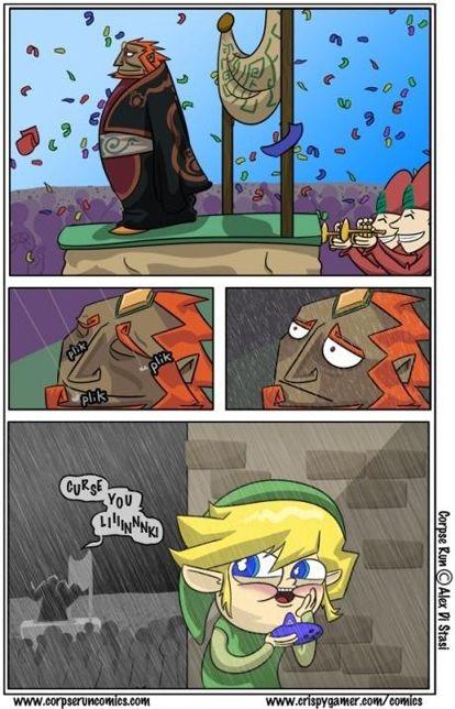 Rain On My Parade Legend Of Zelda Memes Zelda Funny Legend Of Zelda