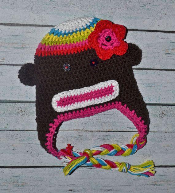 Rainbow sock Monkey (: