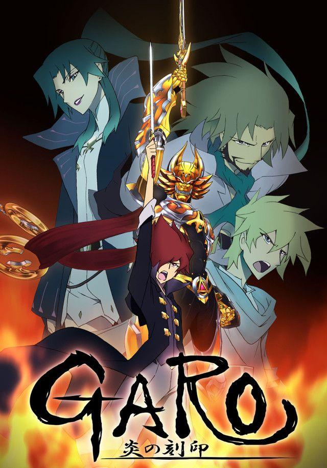 """Garo"" Anime Cast Previewed Anime, Anime dvd, Animation"