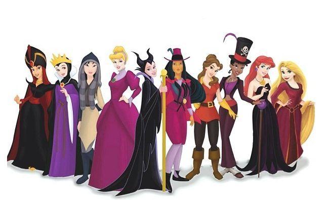 Disney Princesses Dressed As Their Princes