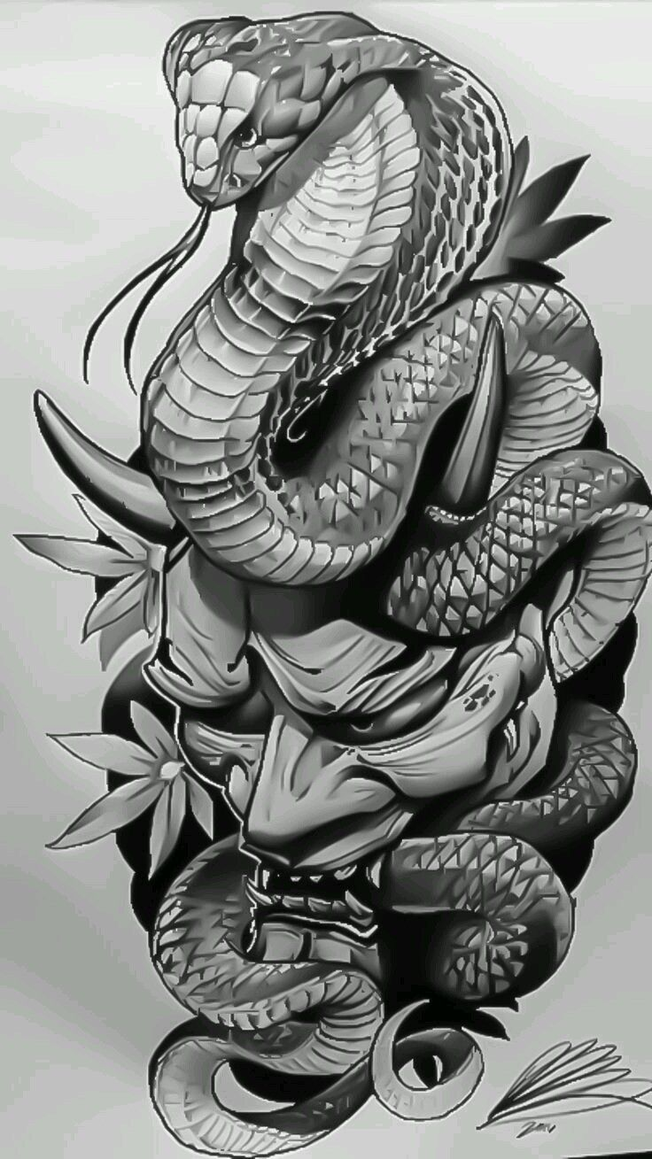 Pin By Linda Rose On Art Design Elements In 2020 Snake Tattoo Design Japanese Snake Tattoo Japan Tattoo Design