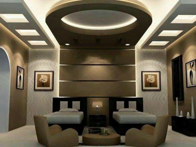 Stylish Modern Ceiling Design Ideas (With images ...