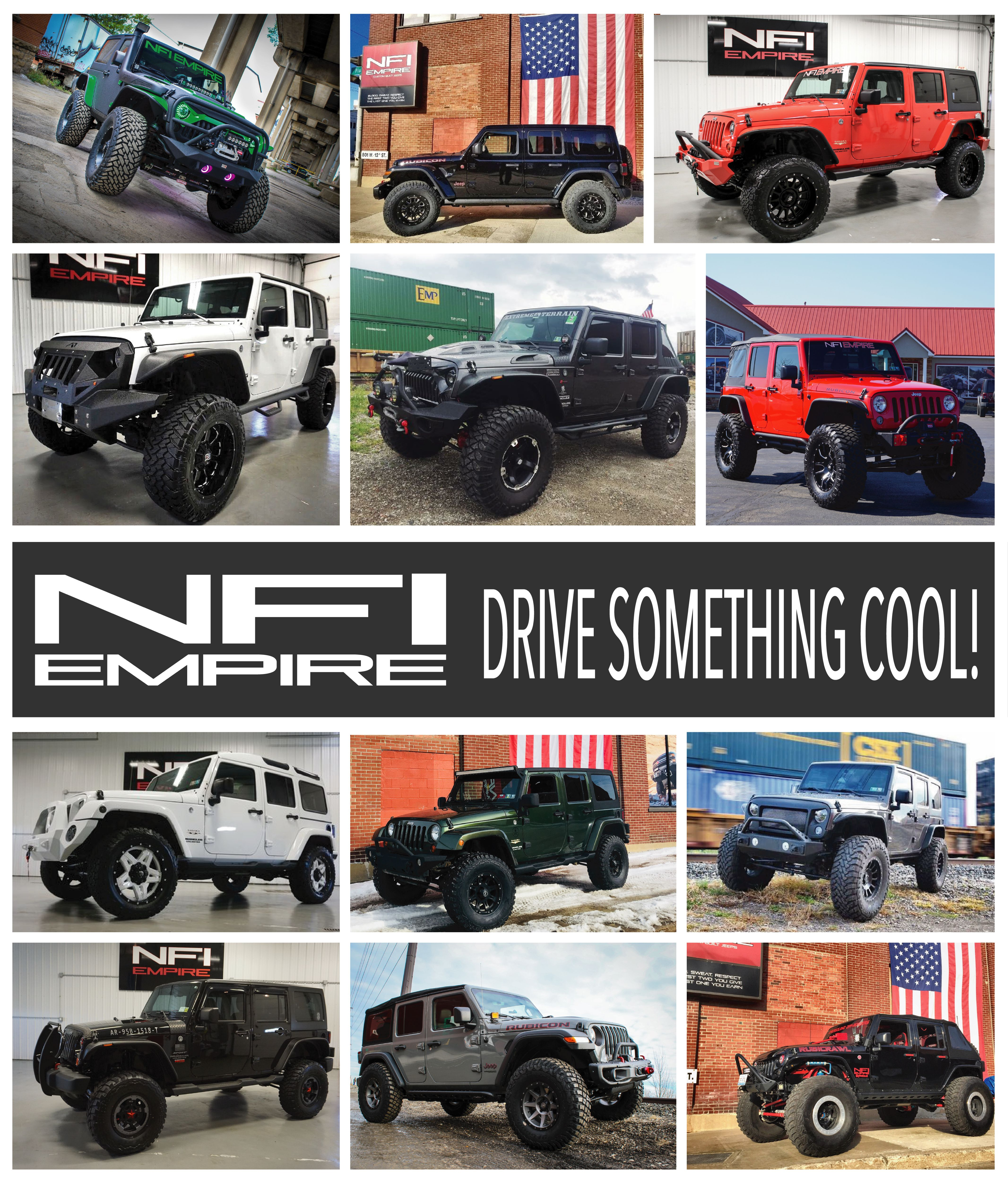 Taking A Look Back To Admire Some Of Our Past Builds Do You Own A Jeep Wrangler You Re Ready To Build Or Are Looki Built Jeep Jeep Badass Jeep