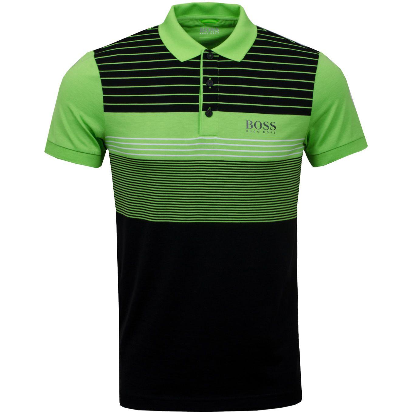 691eb5f5 Golf BOSS Green Paddy Pro 1 Black | Polo Shirts | TRENDYGOLF.COM ...