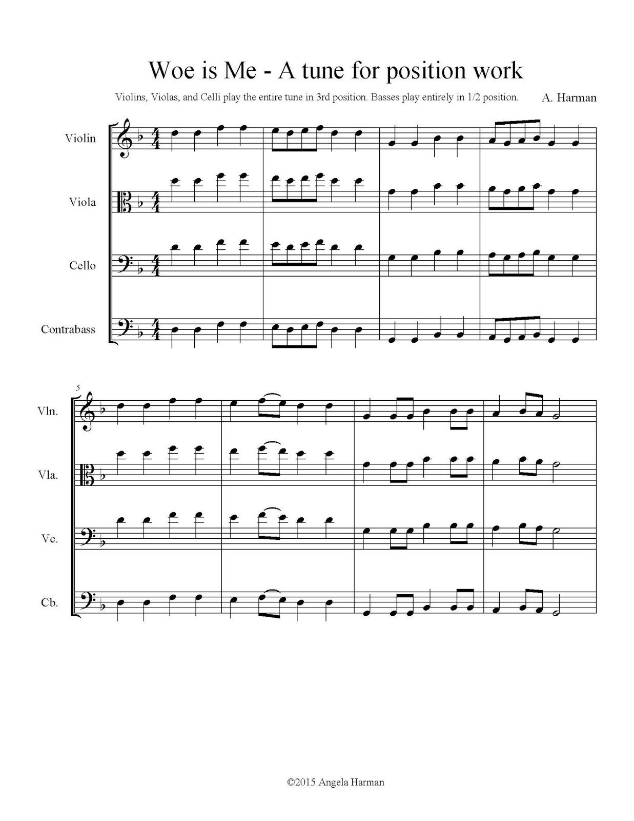 Tunes For Teaching Shifting