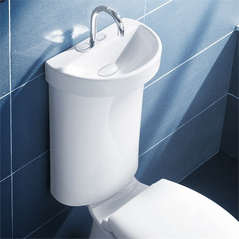 High Quality Find Caroma WELS 5 Star Flush Profile 5 Toilet Cistern With Integrated Hand  Basin At Bunnings