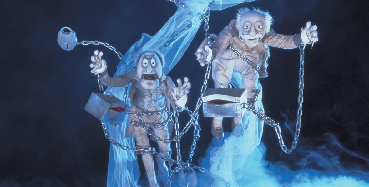 Disney Ghosts: Our Frightful Favorites | Muppet christmas carol, Muppets, Jacob marley