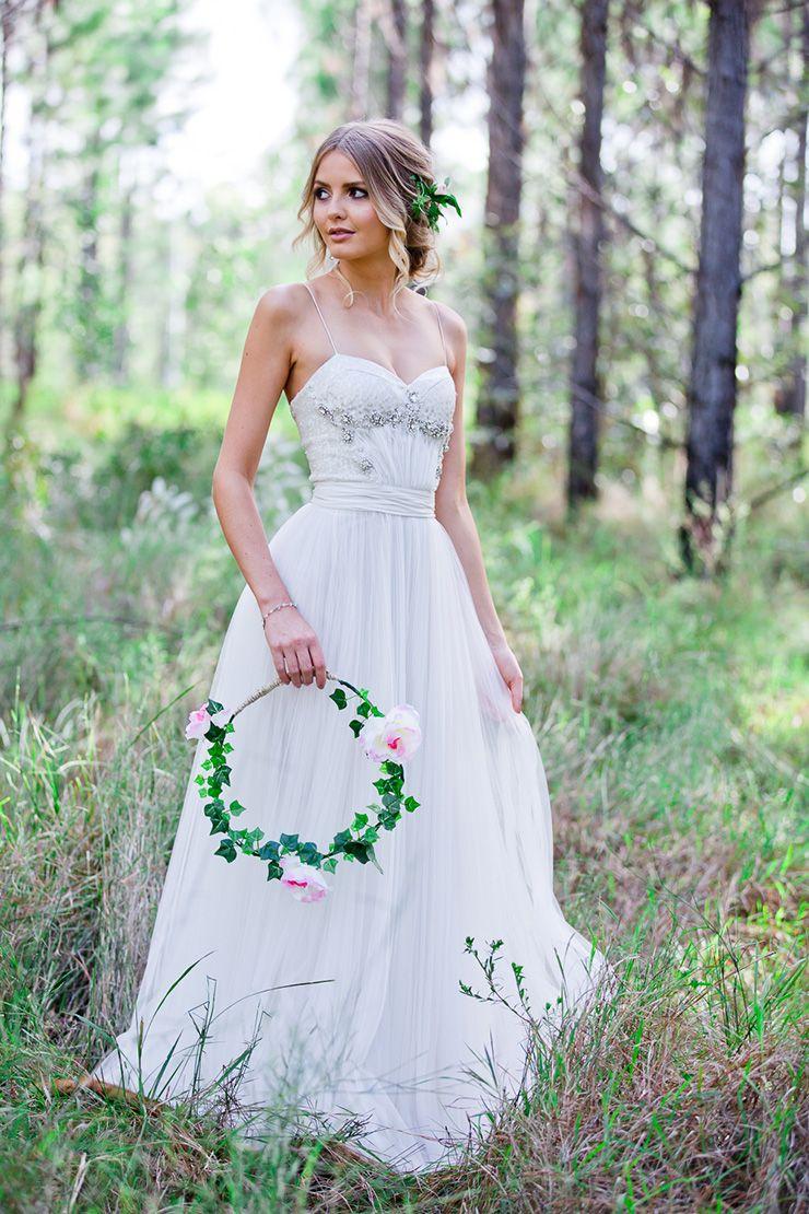 Romantic Woodland Wedding Inspiration Beach Wedding Dress Cheap Simple Wedding Dress Woodland Wedding Inspiration [ 1110 x 740 Pixel ]