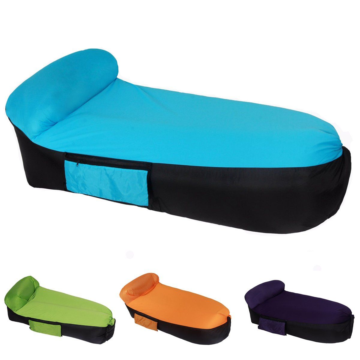 Vfdb Inflatable Lounger Air Sofa Vfbd Portable Air Lounge Hammock For Travellingcampinghiking F Inflatable Pool Inflatable Lounger Inflatable Swimming Pool