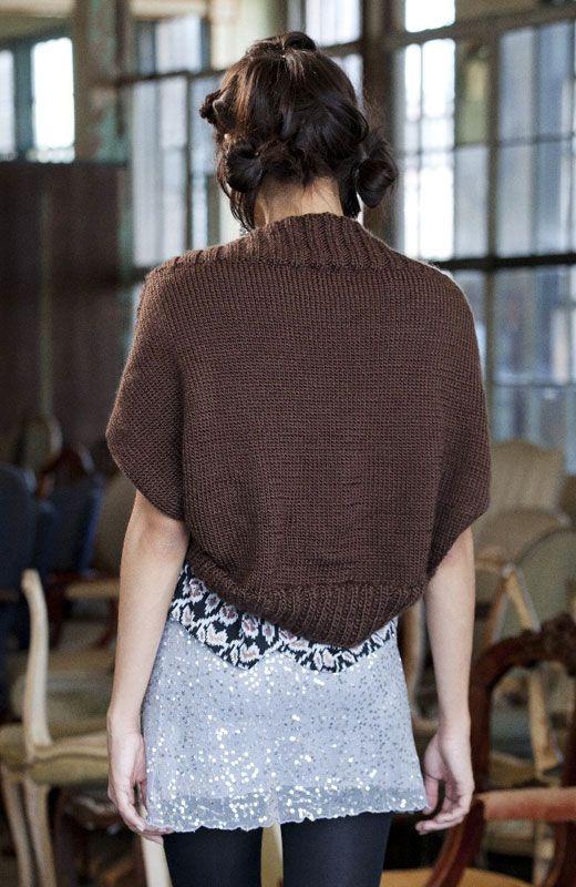 Shrug It | a yarn affair - knitting and crocheting | Pinterest