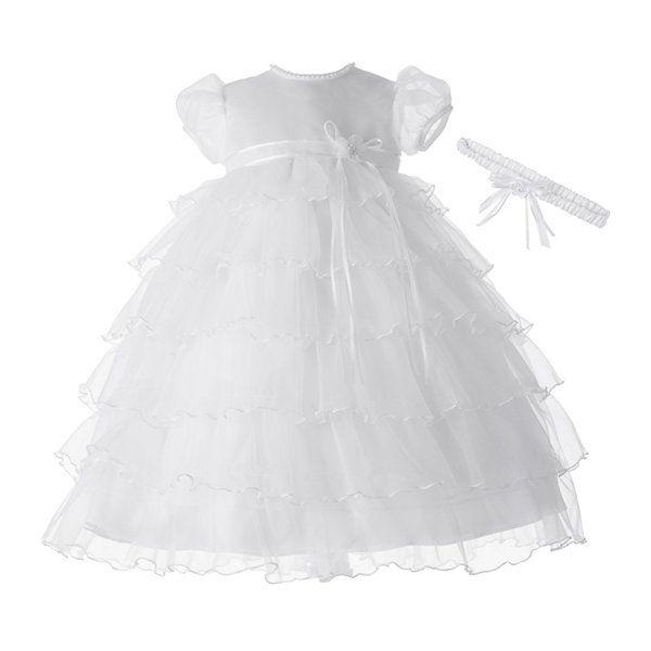 JCPenney | Ella\'s Baptism | Pinterest | Baptism dress, Christening ...