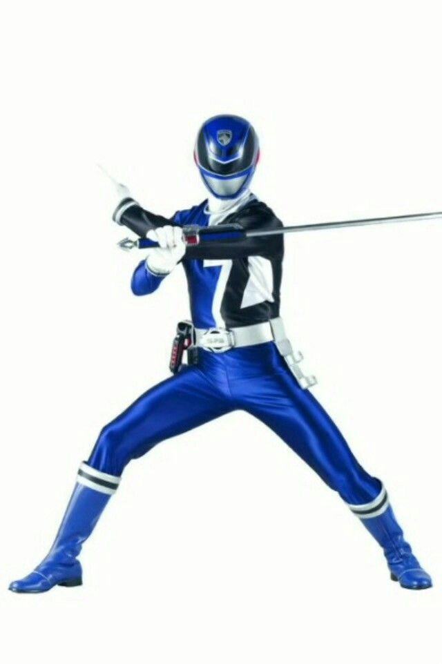 Blue SPD Ranger | Power rangers | Pinterest
