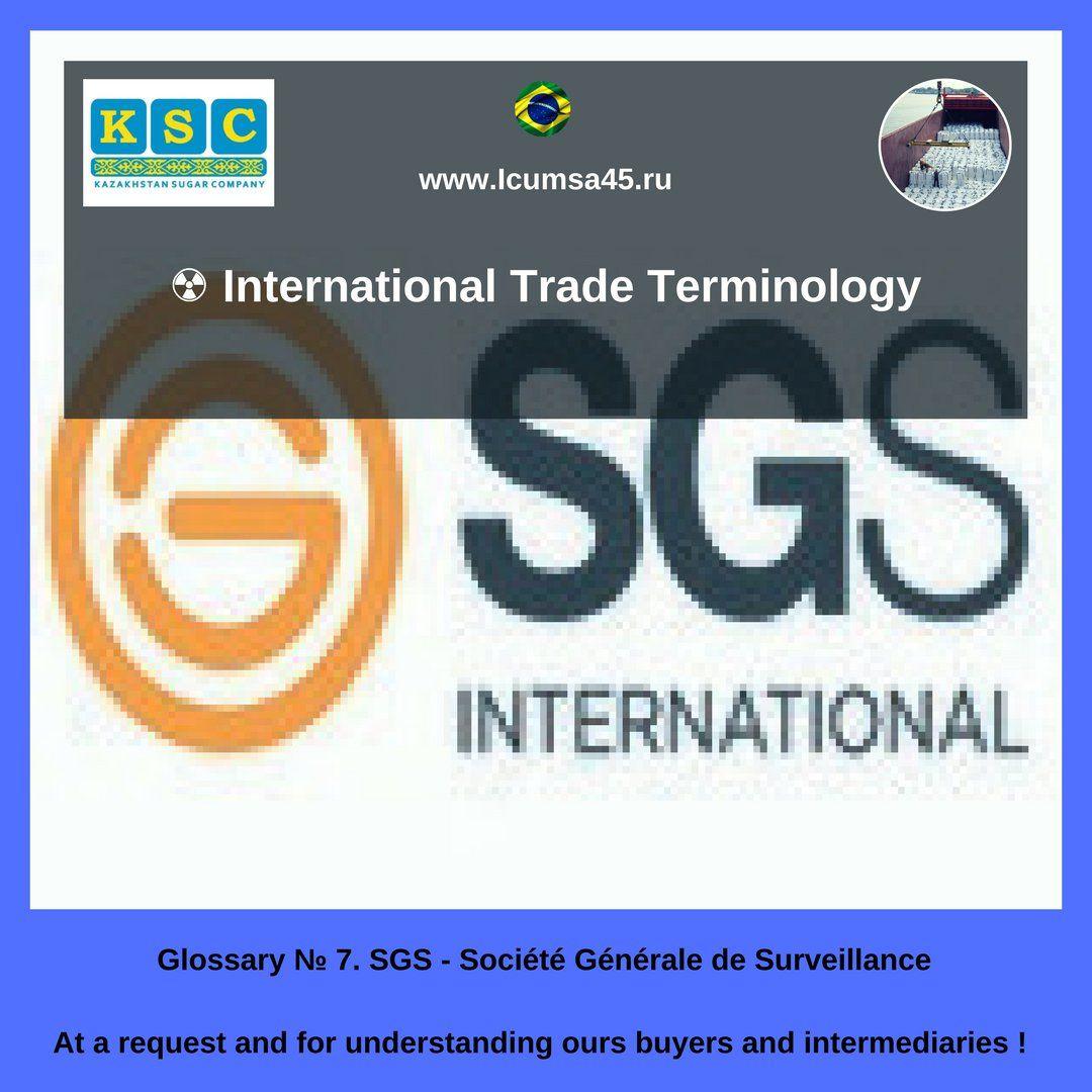 International Trade Terminology: SGS - Société Générale de