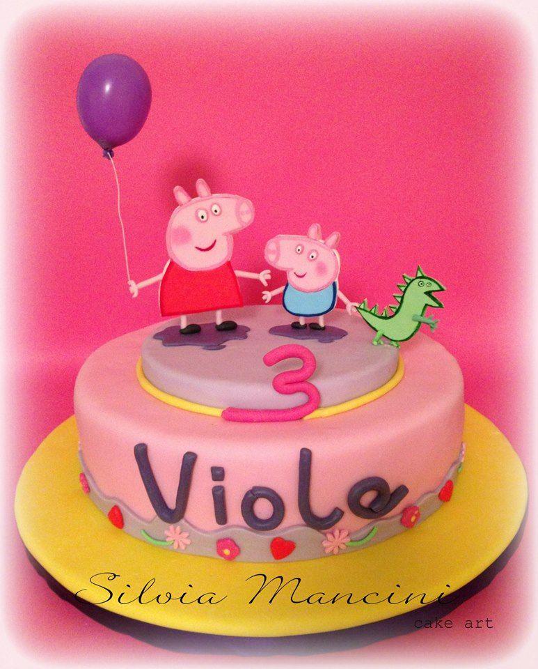 Peppa Pig Birthday Cake Sainsbury S