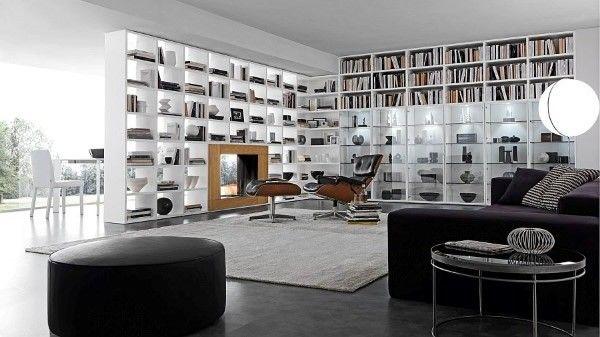 Moderne Wohnzimmer ~ S h bilder q wohnzimmer modern wandregal in