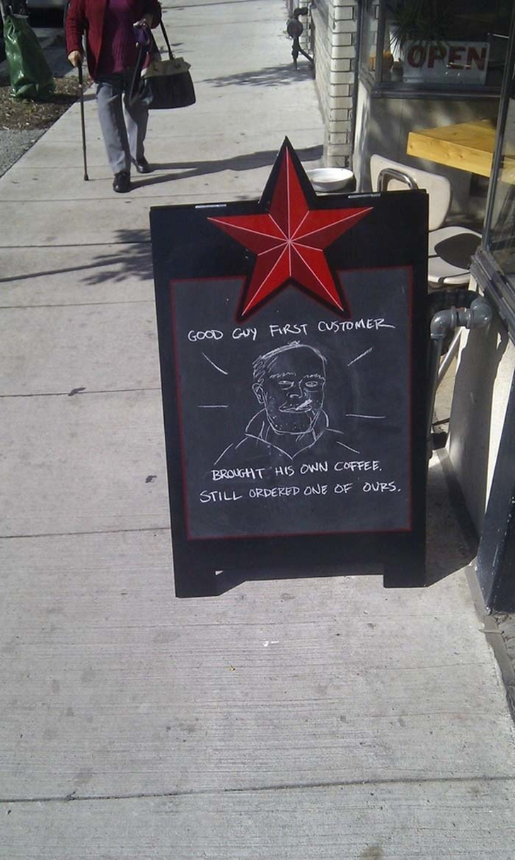 27 restaurant signs you will love