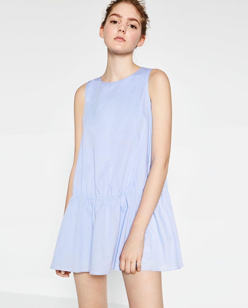 28825f57 Image 3 of FRILLED JUMPSUIT DRESS from Zara | My Style | Zara ...